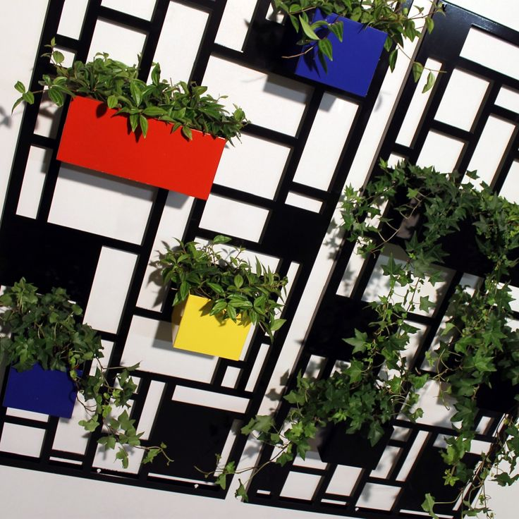 Fioriera COMPOSITION by NIKLA. Scegli tu il colore è la composizione, scopri di più su www.nikla eu  #niklasteeldesign #fioriera #giardinoverticale #vasi #piante #fiori #garden #vivai #planter #flowers #pietmondrian #homedecor #metaldecor #homedesign
