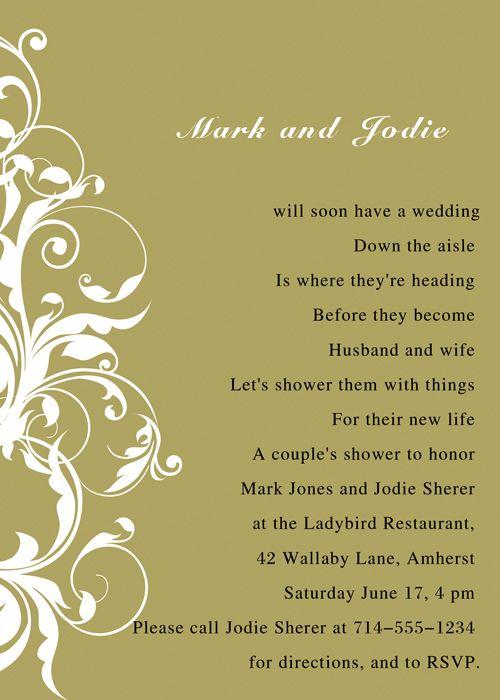 10 best bridal poem images on pinterest bridal shower poems gifts bridal shower poems poetic bridal shower invitations ins012b invitation store filmwisefo