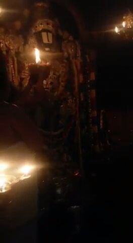 This is the picture of first glimpse of Tirupati Balaji on Jan 1,2015.Stay blessed