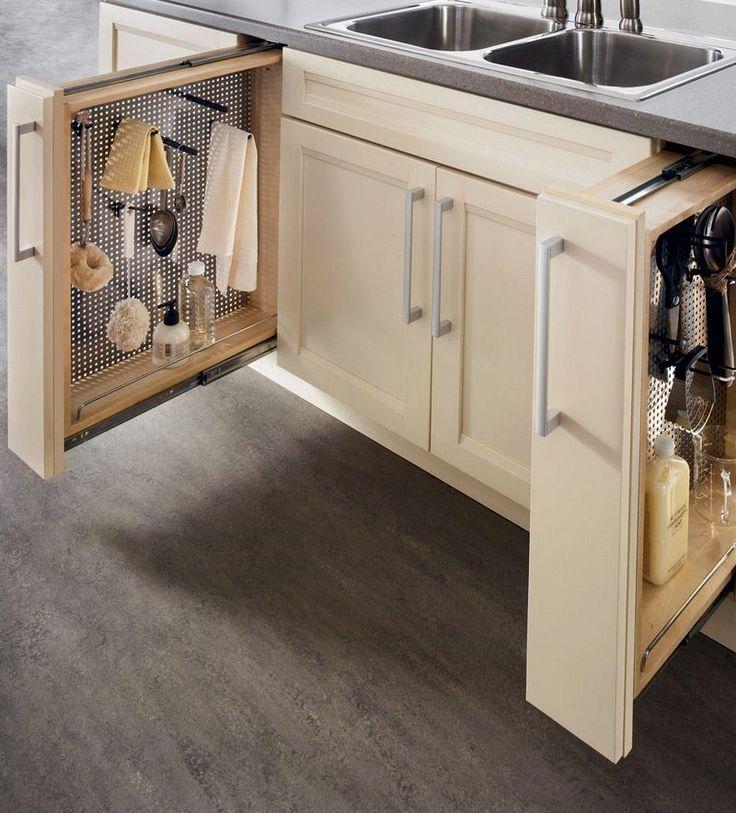 12 best storage ideas images on pinterest kitchen for Kraftmaid storage solutions