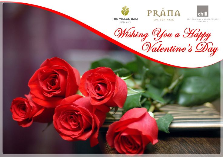 The Villas wishes all our friends a very happy Valentine's Day