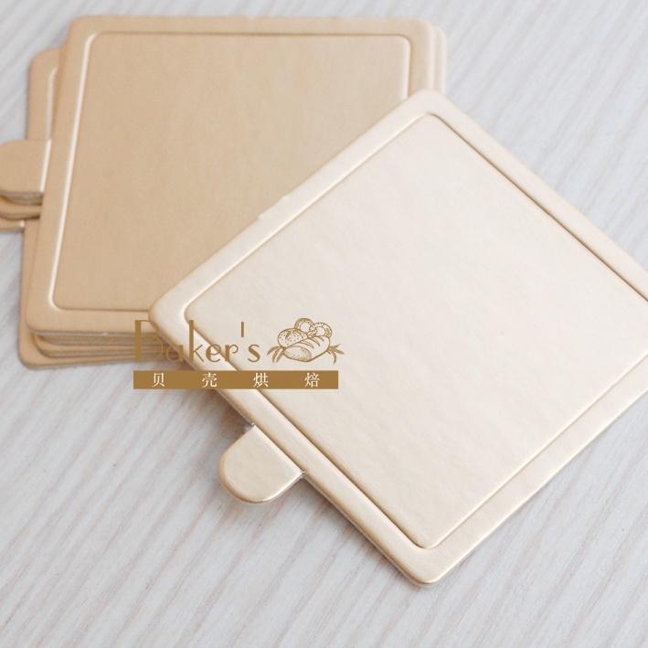 Русский Таобао - Золотые квадратные мусс нижний кронштейн длиной стороны 7,5 см маленький пирог / кексы существенных 2,2 5 - 2.38, надежный Таобао на русском как ebay.