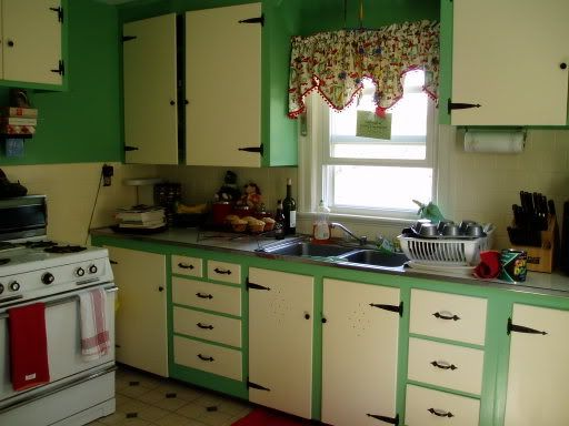 Medium image of 1950s kitchen this is almost identical to the one i had in trentham