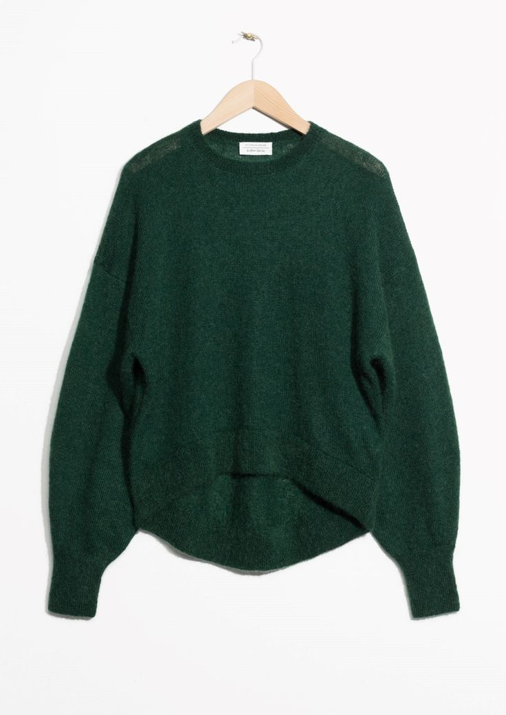 & Other Stories image 1 of Mohair Jumper in Green