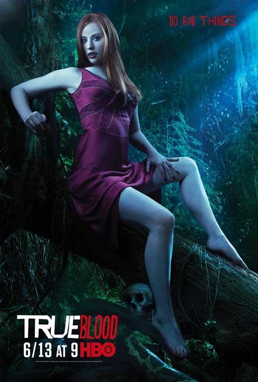 I seriously can't count how many random strangers have asked me if 1. i watch true blood(yes...) and 2 that I act and look like this character jessica(well thanks she's gorgeous!! :)