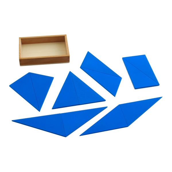 Constructive Blue Triangles from Montessori Outlet $13.95