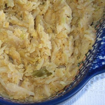 Polish Cabbage-Potato-Bacon Casserole Recipe – Kapusta