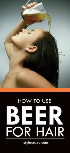 You'll be surprised to know that beer can do wonders for your hair. Here we give you 5 different ways you can use beer for hair.    #haircare #hair