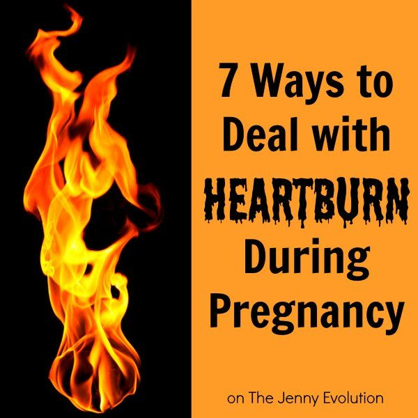 Natural Ways To Stop Heartburn During Pregnancy