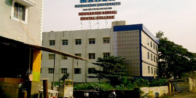 MEENAKSHI AMMAL DENTAL COLLEGE admission 2017  Established Year: 1991  About Us  The Meenakshi Ammal Dental College is located at Alapakkam Main Road, Maduravoyal, Chennai. The College has been committed to Excellence in Eduation, Research, Patient C...