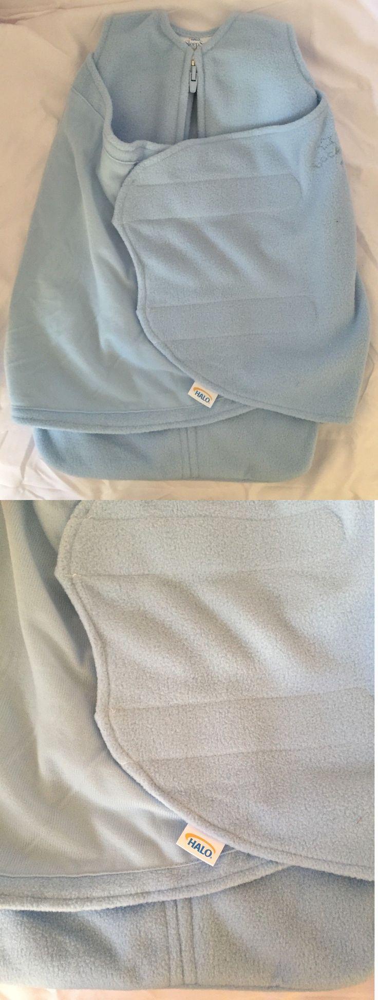 Sleeping Bags and Sleepsacks 100989: Halo Sleepsack Micro Fleece Swaddle Baby Blue Preemie ( Birth To 5 Pounds ) -> BUY IT NOW ONLY: $30 on eBay!