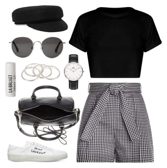 """#277"" by anadaily ❤ liked on Polyvore featuring Zimmermann, Yves Saint Laurent, Daniel Wellington, Isabel Marant, Vanessa Mooney, The Row and L:A Bruket"
