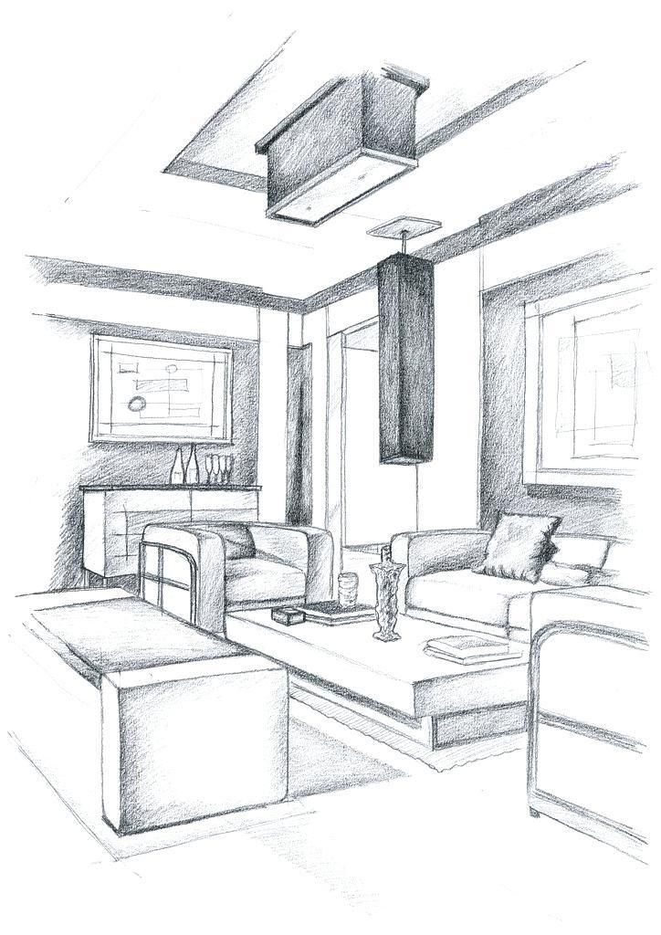 Interior Design Sketches Kitchen Healthymarriagesgr Interior