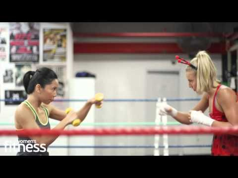 Pro-boxer Lauryn Eagle arm workout