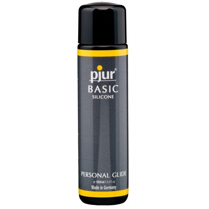 pjur Basic Silicone glidemiddel. Lukt og smakløs. Ypperlig til masturbasjon, samleie eller også massasje. http://www.esensual.no/glidemiddel-basic-silicone-pjur/