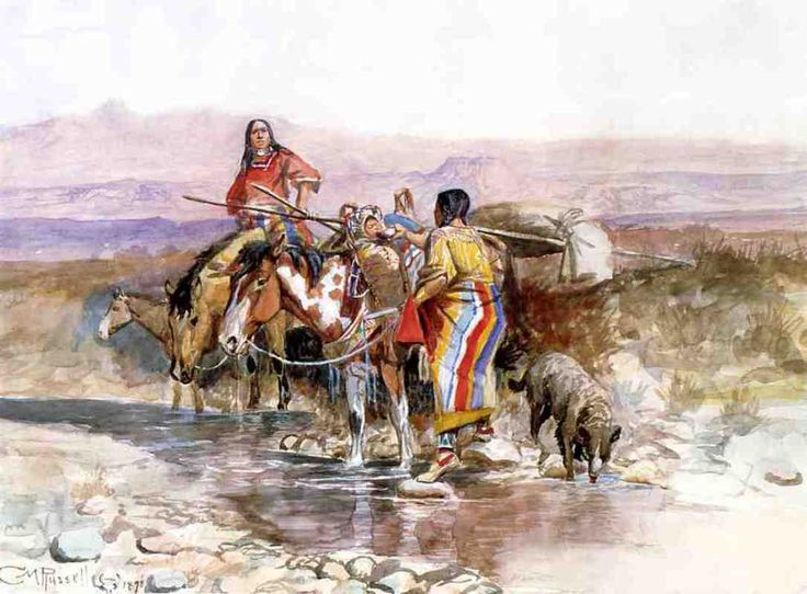 Charles Marion Russell >> Thirsty