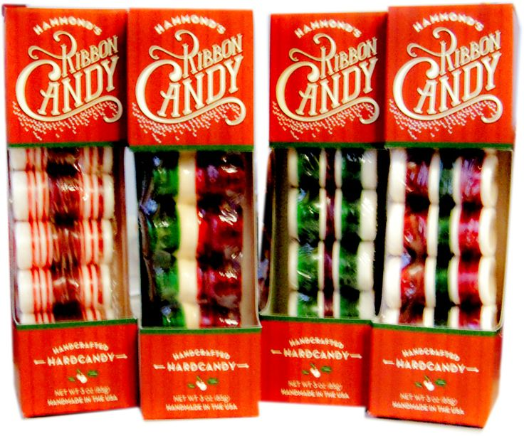 Hammond's Old Fashioned Ribbon Candy is as much a part of Christmas as candy canes. Ribbon candy brightens any holiday event.