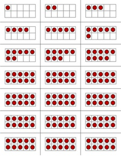 Cards for building Numbers to 100 with ten frames 'I Can' activities for ideas on how to use them Math Coach's Corner