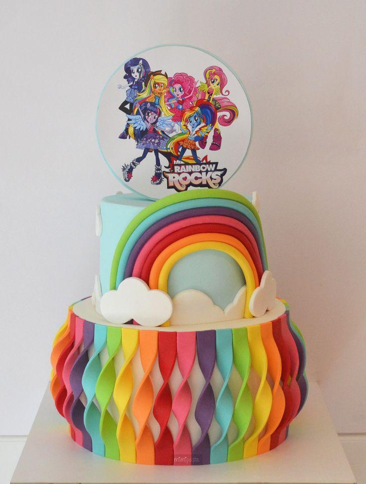 My Little Pony: Equestria Girls - Rainbow Rocks Cake
