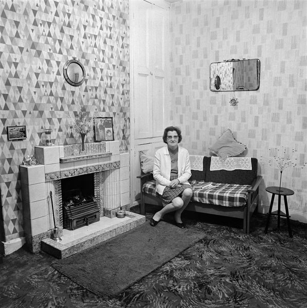 From the series June Street, photographed in Salford, 1973. © Daniel Meadows and Martin Parr. National Media Museum