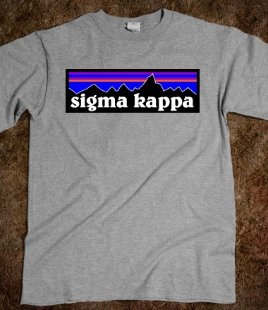 """Sigma Kappa """"Patagonia"""" Shirt (w/color options)"""