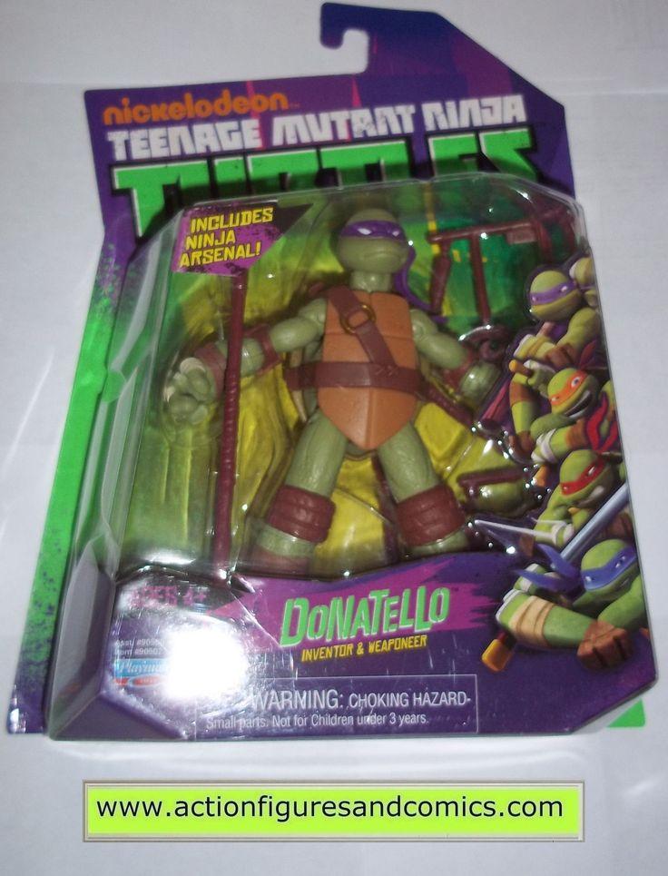 teenage mutant ninja turtles DONATELLO DON 2012 Nickelodeon playmates toys mib moc mip tmnt