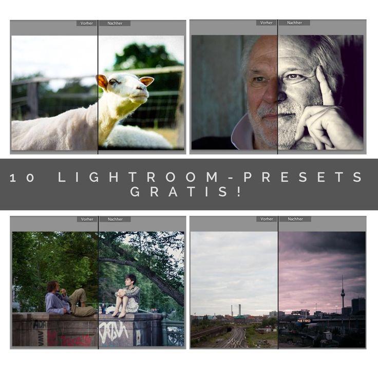 10 Kostenlose Free Lightroom Presets installieren! Hier habe ich Dir ein paar Presets zusammengestellt mit Vor/Nachher Effekt und dem Link zum Download!