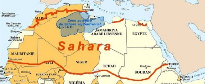 Shale gas exploitation in the Sahara is not the same as shale gas exploitation in the US. There are added complications, namely the dependence of fracking a