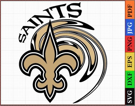 New Orleans Saints Svg, NFL svg, Football Logo Svg Files