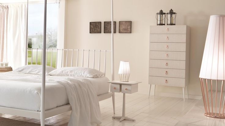 City, 2 drawer, 1 feed bedside table - Bedroom furniture - Cantori