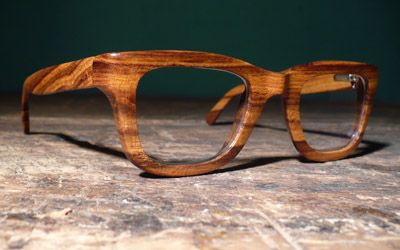 gafas de madera hechas a medida -- by Urban Spectacles