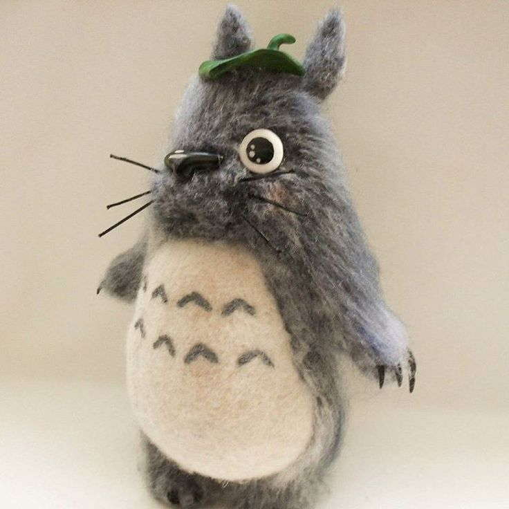 Totoro. #тоторо #игрушка #игрушкаизшерсти #валяниеизшерсти #творчество #аниме #totoro #chibitotoro #chutotoro #animе #animeworld
