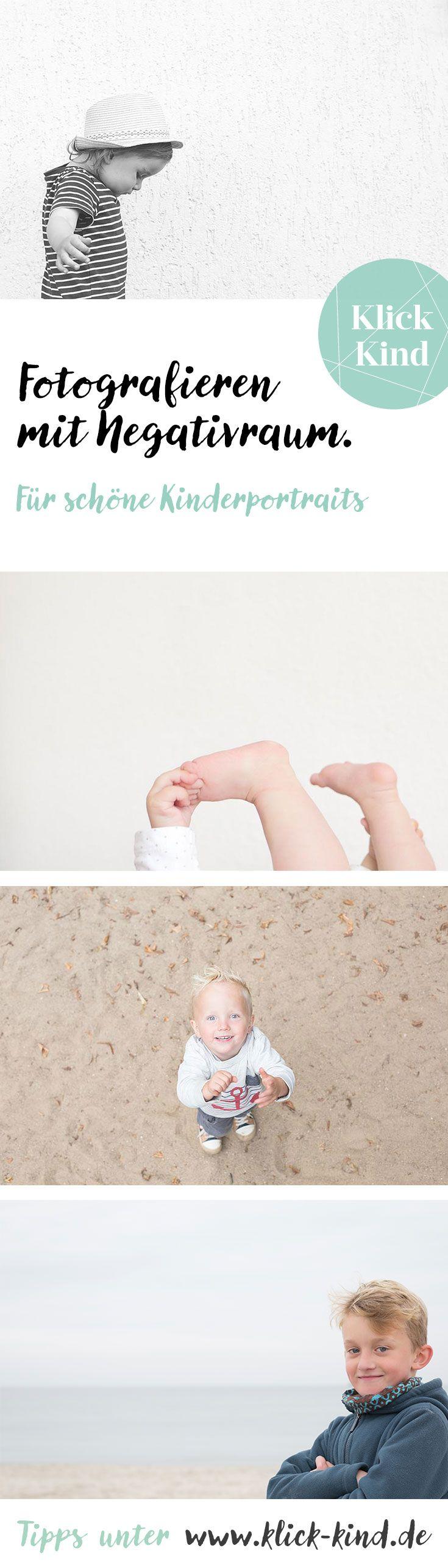Fotografie-Tipps für minimalistische Kinderfotos mit Negativraum – Klick.Kind