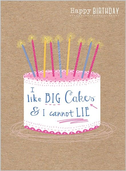 Everyday Ranges » M1505 » Birthday Cake - Clare Maddicott Publications - Greeting cards, gift wrap & stationery