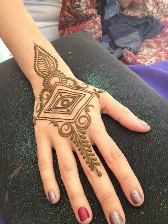 Heartfire henna :: tribal eye