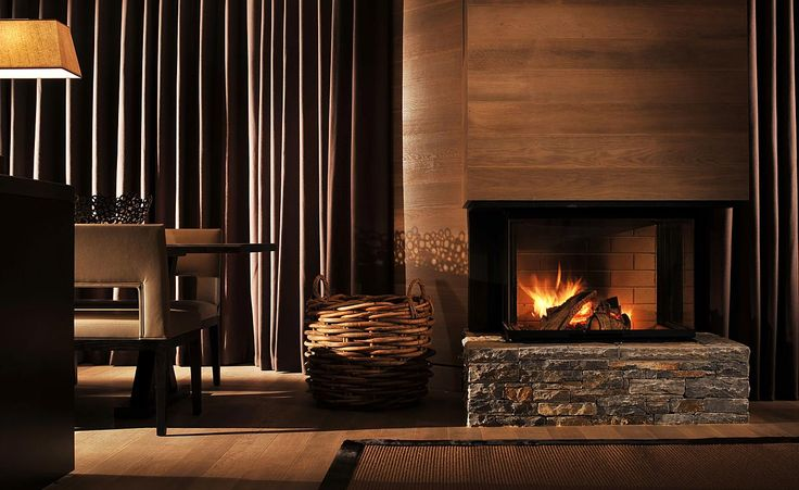 Nicky dobree luxury ski chalet decor ideas pinterest for Luxury fireplace designs