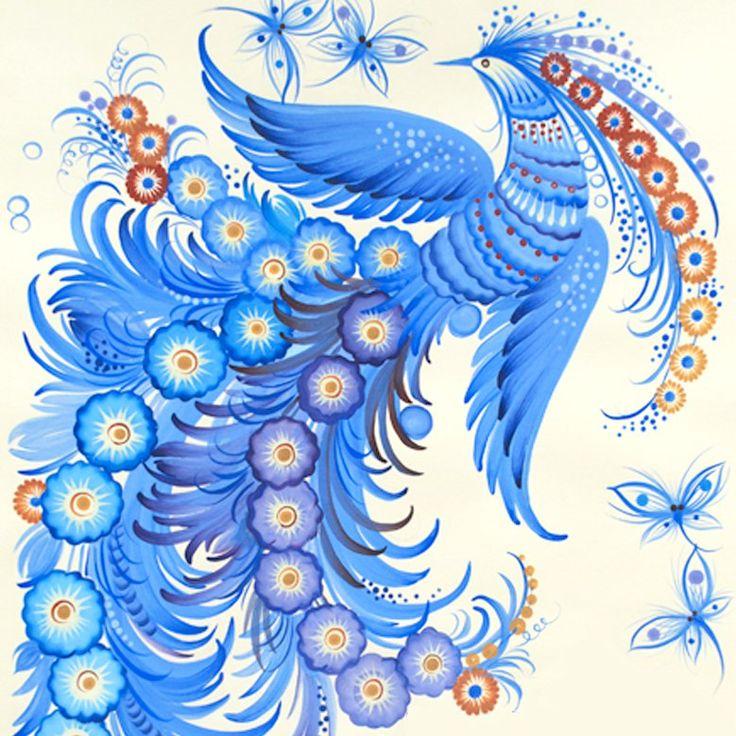 Синяя птица картинки для детей, прилагательными