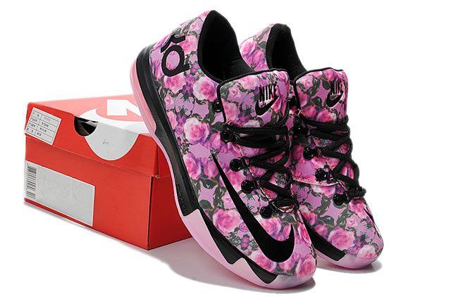 Nike Zoom Kevin Durant KD VI Basketball Shoes Black Pink