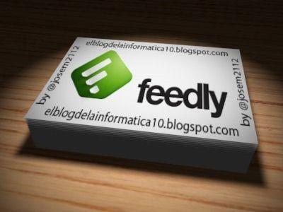Exportar marcadores de Feedly - #Feeds #RSS #Feedly
