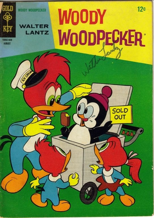 Woody Woodpecker and Chilly Willy the Penguin <3