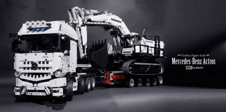 Lego Technic Mercedes Benz Truck