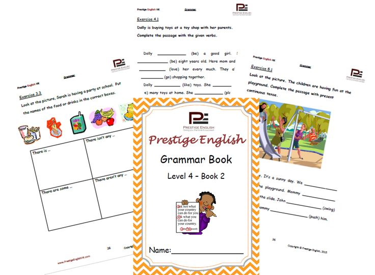 English Grammar Book – Level 4 – Book 2