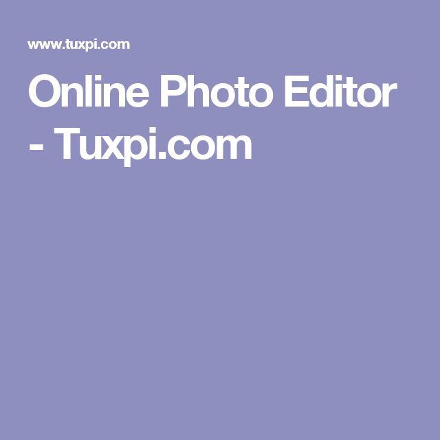 Online Photo Editor - Tuxpi.com