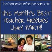 Have you created a great classroom freebie? Add it to the link up, and check out some some of the best freebies of the   month!