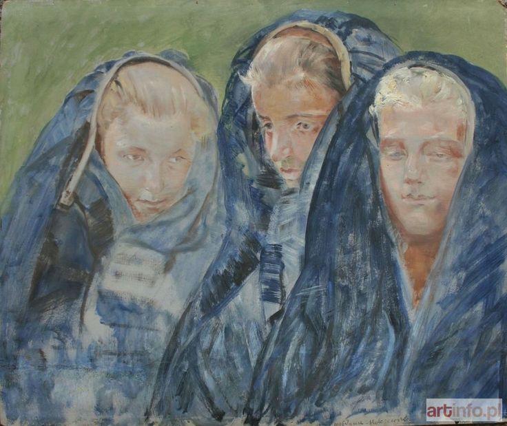 Jacek MALCZEWSKI ● Dziewczyny w zapaskach (1906) ●
