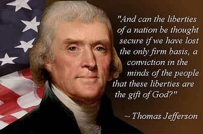 thomas jeffersons belief in the natural rights of man Libertarianism, political philosophy that takes individual liberty to be the primary political value it may be understood as a form of liberalism, the political philosophy associated with.