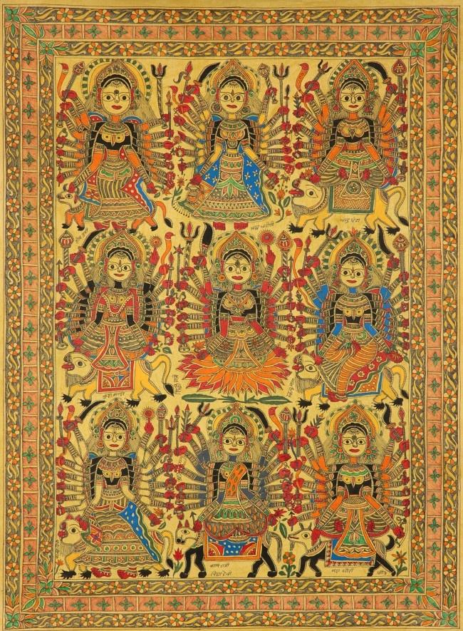 Navadurga The Nine Forms of Goddess Durga Durga