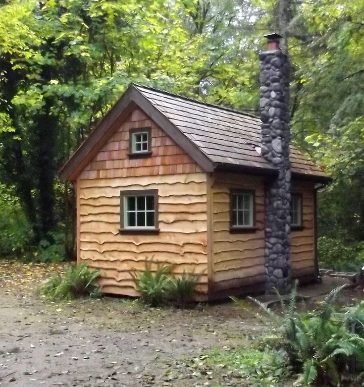 17 best images about wood siding on pinterest log siding for Building a small cabin in the woods