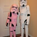 This is my cheap attempt at stormtrooper costumes for my 4 and 6 year olds. It's made to be lightweight and flexible for comfort but still hold true to the ...