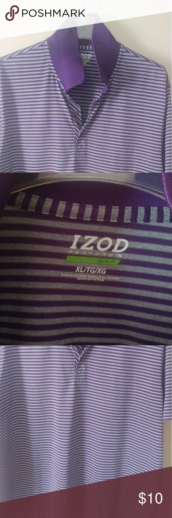Non-smoking home. Men's Izod Golf Polo XL Men's quick dry Izod golf polo in good shape. Izod Shirts Polos